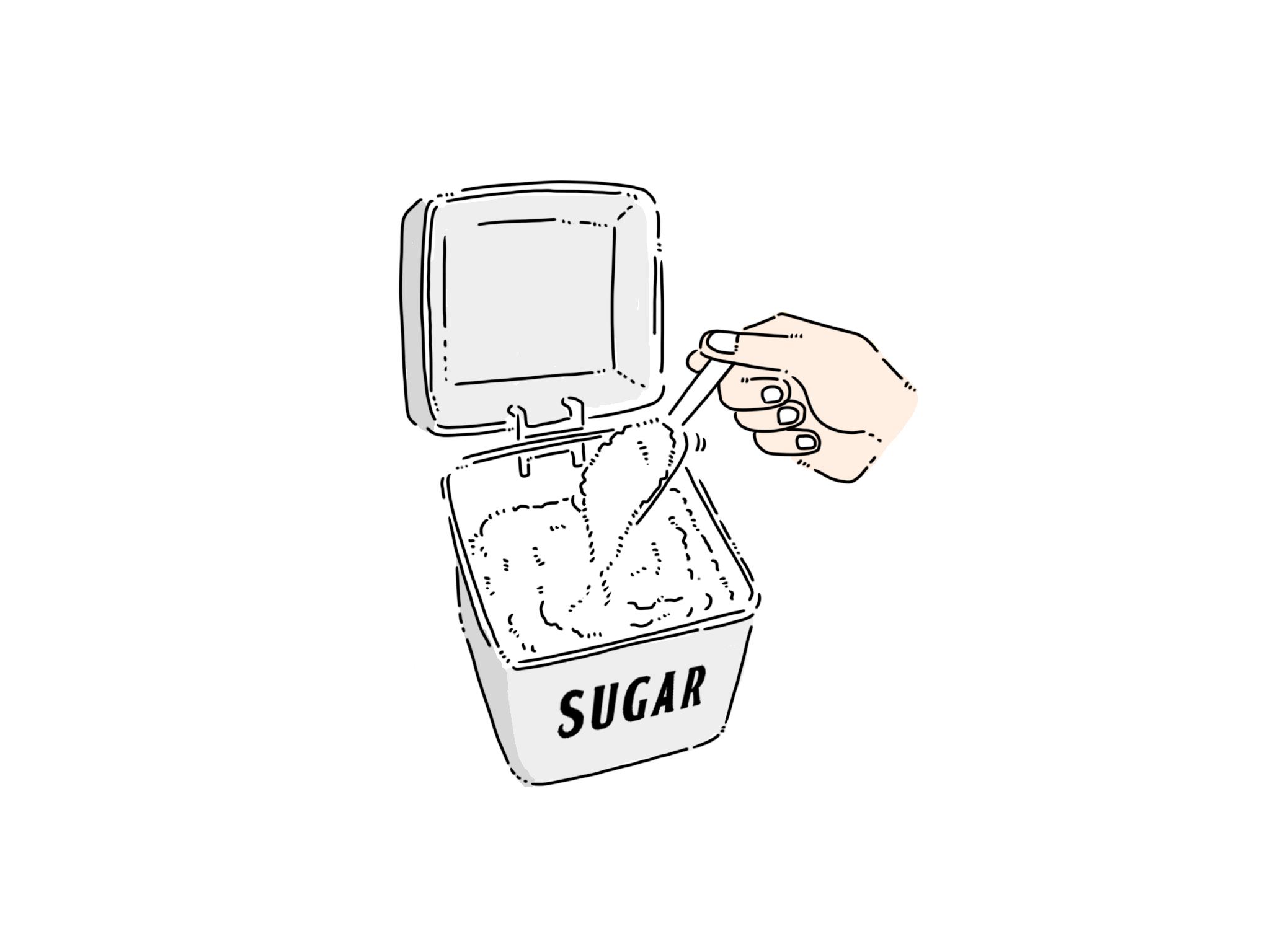 方 ほぐし の た 固まっ 砂糖