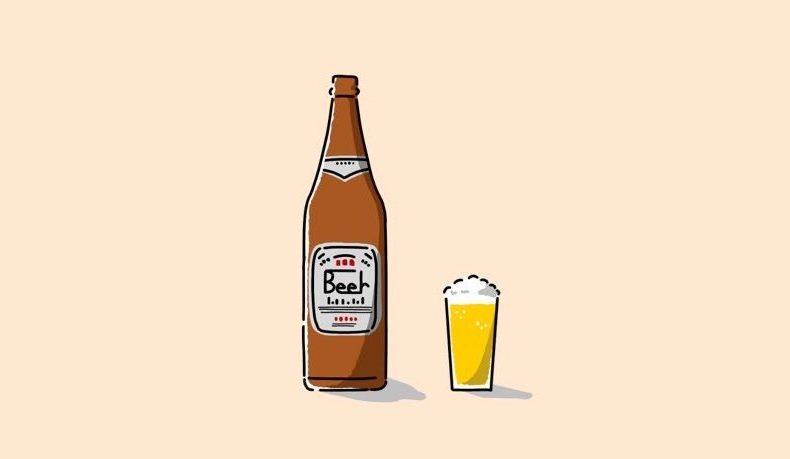 イラスト:ビール