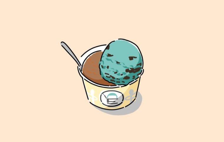 イラスト:アイスクリーム