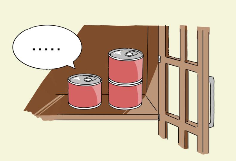 イラスト:缶詰
