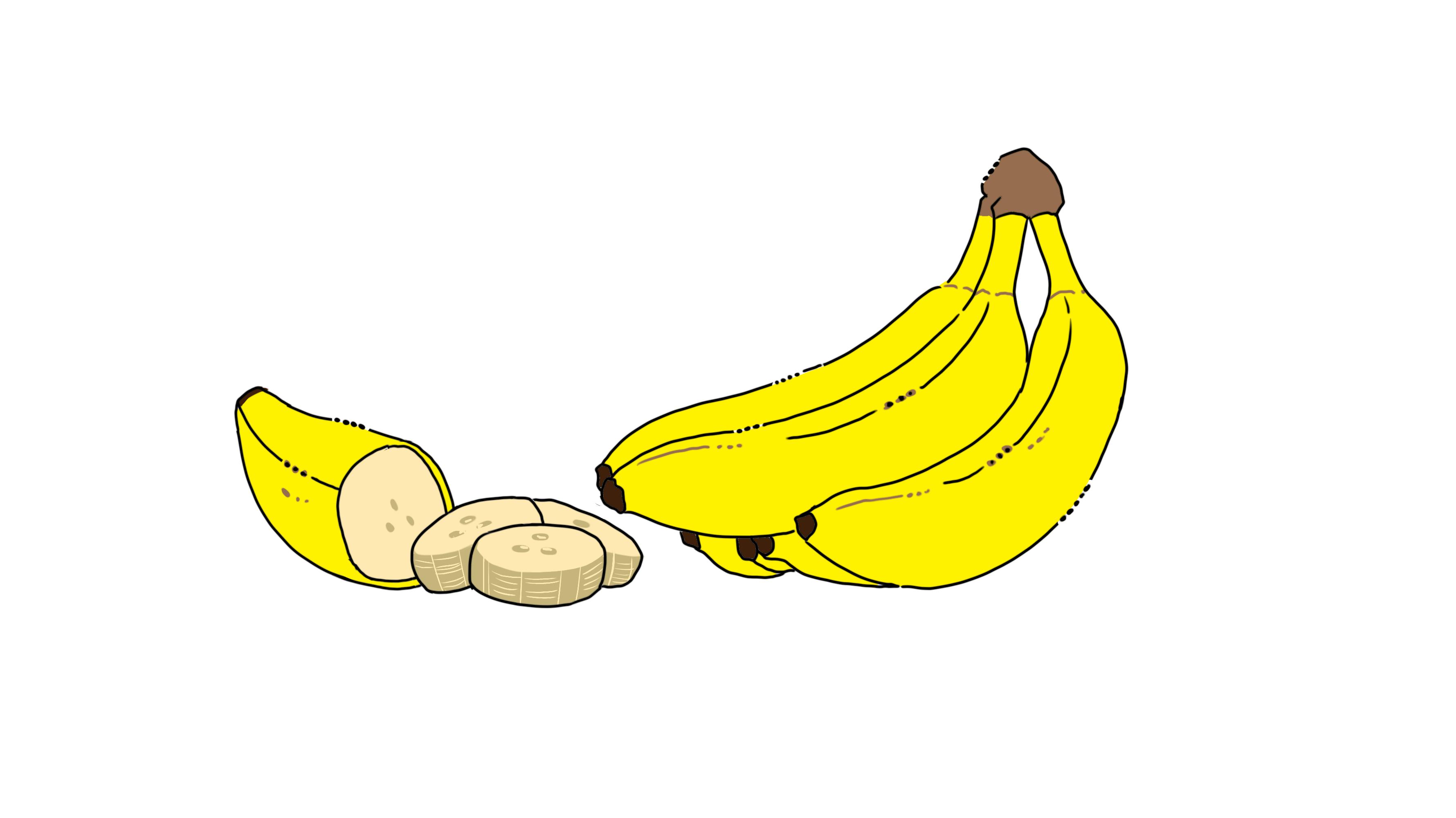 イラスト:バナナ